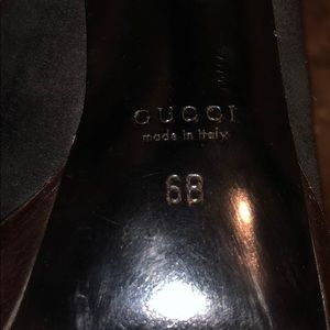 Gucci Shoes - Black vintage gucci heels
